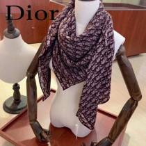Dior迪奧頂級真絲羊絨方巾