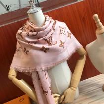 LV新款 秋季皮具系列絲羊絨披肩