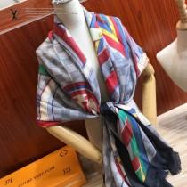 LV 圍巾披肩兩用款絲羊絨