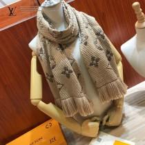 LV MONOGRAM GIANT JUNGLE LOGOMANIA 圍巾