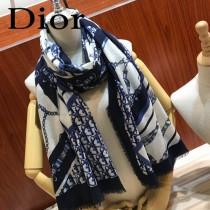 Dior迪奧原單暗紋提花羊絨圍巾