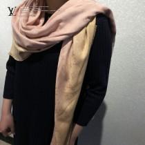 LV經典款撞色圍巾70%羊絨30%真絲