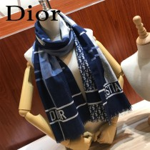 Dior迪奧原單羊絨圍巾