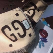 Gucci最新專櫃同步款真絲羊毛圍巾