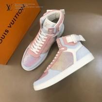 LV  炫彩高幫運動鞋 官網限定款