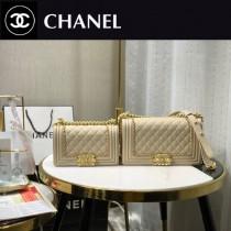 67085-6 Chanel 專櫃最新款Leboy 鐵鏈編織包