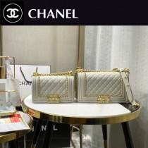67085-5 Chanel 專櫃最新款Leboy 鐵鏈編織包