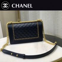 Chanel 專櫃最新款Leboy-01