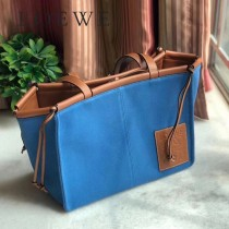 LOEWE 035-4  LOEWE 羅意威  lbiza限量系列cushion tote bag購物袋