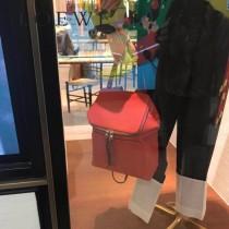 LOEWE 043-4 羅意威 Goya small backpack 進口平滑小牛皮 原單最新款雙肩背包