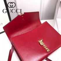 602781-03 GUCCI新款  Sylvie 1969系列手袋
