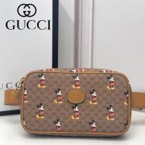 602695(517076) Gucci 2020早春成衣和配飾系列 Disney x Gucci Disney聯名腰包胸包
