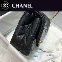 1786-09  CHANEL香奈兒原版皮新款  小號口蓋包
