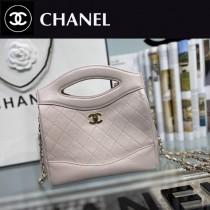 CHANEL香奈兒 A9196-02  原版皮 mini手拿包 手提包 链条包