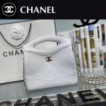 CHANEL香奈兒 A9196-01  原版皮 mini手拿包 手提包 链条包