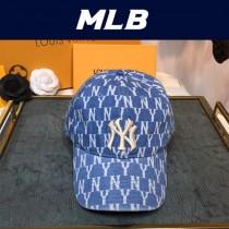 MLB老花牛仔棒球帽 2020大爆款 泫雅同款時尚潮流 超級可人的顏色