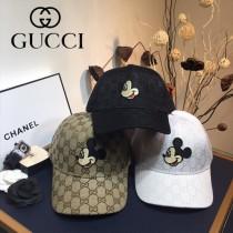 古奇 Gucci 米奇刺繡春款棒球帽 精致車線 logo