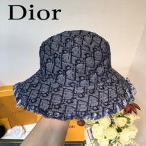 DIOR奧迪 新品官網限量款帽子 復古的牛仔 配老花logo,超級百搭