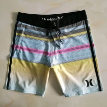 hurley-04 hurley男式外貿款加大碼沙灘短褲 速幹彈力休閑巴西沖浪褲 五分褲