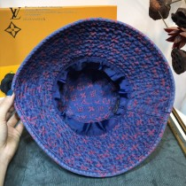LV路易威登 官網限量款漁夫帽 復古的牛仔 配老花logo,超級百搭。