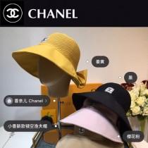 香奈兒CHANEL 夏季新品遮陽漁夫帽,拼接鏤空設計 時尚休閑