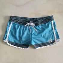 hurley沙灘褲女原單 速幹寬松彈力百搭透氣彩色三分感性 短褲外貿