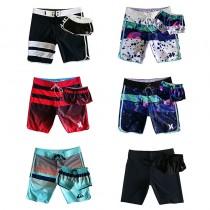 Hurley情侶套裝沙灘褲女褲 速幹海邊度假運動百搭熱銷 休閑短泳褲