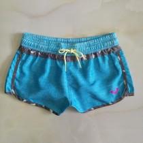 新款三分女士沙灘褲速幹短褲溫泉下水遊泳褲休閑居家運低腰褲