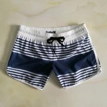 外貿夏季新款hurley運動休閑女褲 速幹寬松彈力繩 沙灘褲三分泳褲