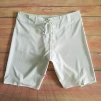 熱夏天沙灘褲泳褲新品 批發分銷現貨跨境出口白色健體短褲五分褲