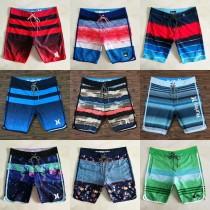 新款男士沙灘褲速幹寬松休閑海邊泳褲沙灘下水男士短褲泳褲