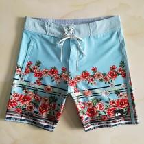 Quiksilver男士海邊沖浪 沙灘褲短褲 寬松大碼舒適沖浪五分褲夏季
