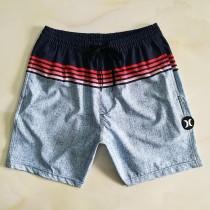 夏季沙灘褲男外貿短褲 速幹寬松大碼松緊彈力跨境專供 休閑男泳褲