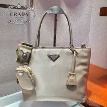 1BG320-1 PRADA普拉達新款原版皮 三合壹購物袋