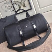 2VC015-1  PRADA普拉達新款原版皮旅行袋