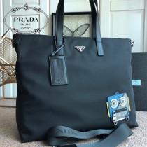 2VG024 prada普拉達 原單貨男女共用款購物袋