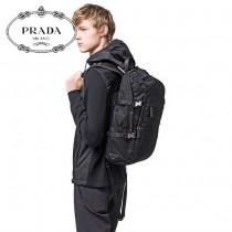 2VZ022 PRADA 普拉達新款原版皮 雙肩背包