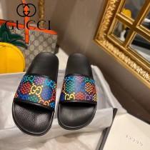 GUCCI-01 新款早春Disney x Gucci Ace系列女士GG拖鞋