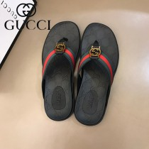 GUCCI 男士原單夏季拖鞋