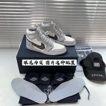 純原Dior x Air Jordan 1 High OG AJ1迪奧聯名運動鞋