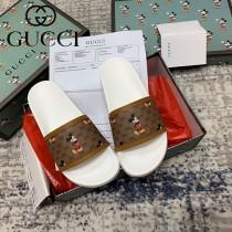 GUCCI-02 新款早春Disney x Gucci Ace系列女士GG拖鞋