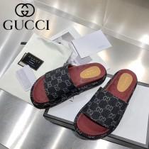 GUCCI-01 新款 最新限量版Gucci Summer厚底拖鞋