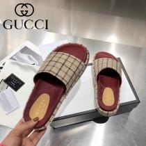 GUCCI-03 新款 最新限量版Gucci Summer厚底拖鞋