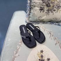 亞歷山大王-01 代購級Alexananderwang 20ss logo鉆扣拖鞋