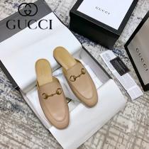GUCCI-01  代購級新款經典升級系列 半拖單鞋