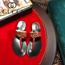 GUCCI-04  頂級版本春夏新款G字母T型夾趾涼拖