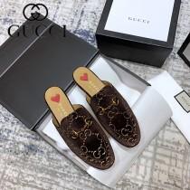 GUCCI-04  代購級新款經典升級系列 半拖單鞋