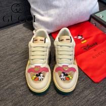 GUCCI-04  最高版本GUCCl古馳無敵爆款做舊小臟鞋迪士尼聯名 情侶鞋