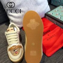 GUCCI-01  最高版本GUCCl古馳無敵爆款做舊小臟鞋迪士尼聯名 情侶鞋