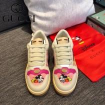 GUCCI-02  最高版本GUCCl古馳無敵爆款做舊小臟鞋迪士尼聯名 情侶鞋